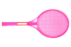 Tennis racket isolated Royalty Free Stock Photography