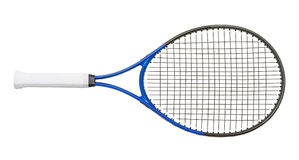 Tennis Racket. New Tennis Racket Isolated on White Background Royalty Free Stock Photography