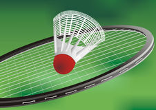 A tennis racket and new tennis ball Royalty Free Stock Image