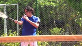 Tennis, Racket Sports stock footage