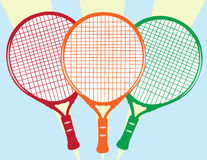 Tennis Racket Stock Photography