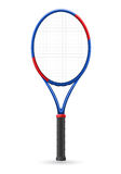 Tennis racket vector illustration Stock Photos