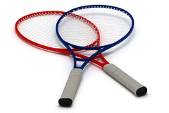 Tennis Rackets royalty free stock image