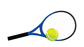 Tennis and rackets Stock Image
