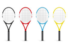 Tennis rackets Royalty Free Stock Images