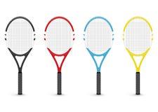 Tennis rackets. On white background royalty free illustration