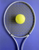Tennis Racquet & Ball Royalty Free Stock Photography