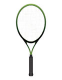 Tennis Racquet Illustration Isolated on White Stock Photo