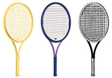 Tennis racquet Royalty Free Stock Images