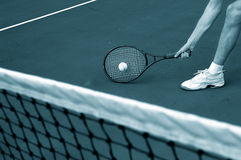 Tennis reach Stock Image
