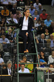 Tennis referee, chair umpire Stock Images
