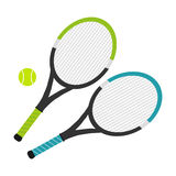 Tennis rocket royalty free illustration