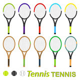 Tennis rocket Stock Images