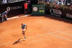 Tennis Rome ATP 2019 - Nadal vs Verdasco stock photo