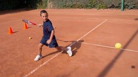 Tennis school Royalty Free Stock Image