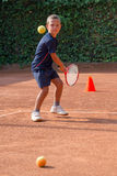 Tennis school Stock Image