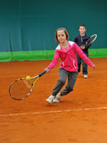 Tennis school Stock Images