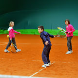 Tennis school Royalty Free Stock Photography