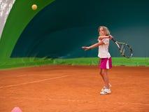 Tennis school Stock Photography