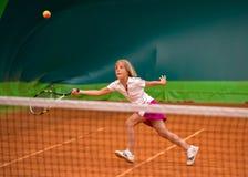 Tennis school Stock Photo