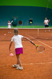 Tennis school Stock Photography