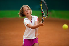 Tennis school Stock Photo