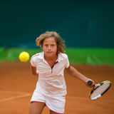 Tennis school Royalty Free Stock Photo