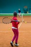 Tennis school Royalty Free Stock Photo