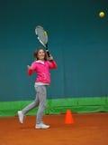 Tennis school Stock Image