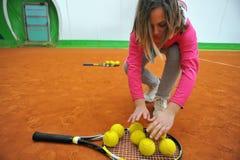 Tennis school Royalty Free Stock Photos