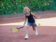 Tennis school Royalty Free Stock Photography