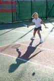Tennis school Stock Images