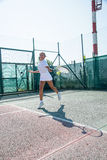 Tennis school outdoor Stock Photography