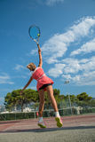 Tennis school outdoor Stock Photo