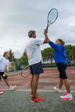 Tennis school outdoor Stock Photography