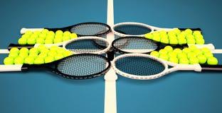 Tennis school. Stock Photography
