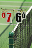Tennis Score Stock Images