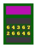 Tennis score board Stock Photography