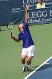 Tennis Serve (Peter Polansky) Royalty Free Stock Images