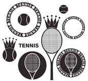 Tennis. Set Royalty Free Stock Photography