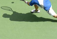 Tennis shadow 21 royalty free stock photos