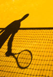 Tennis  shadow abstract Royalty Free Stock Photos