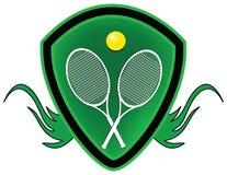 Tennis shield. Stock Photos