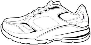 Tennis Shoe stock illustration