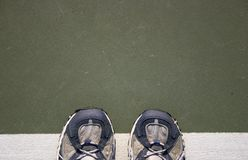 Tennis Shoes Royalty Free Stock Photography