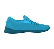 Tennis shoes sport isolated icon Stock Photography