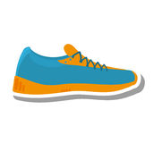 Tennis shoes sport isolated icon Stock Photos