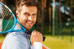 Tennis sicuro immagini stock libere da diritti