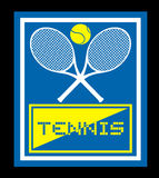 Tennis sign Stock Image