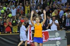 Tennis Simona Halep della donna Immagini Stock